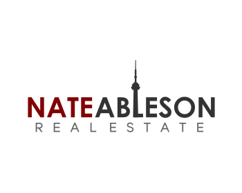 Nate Ableson Real Estate logo design