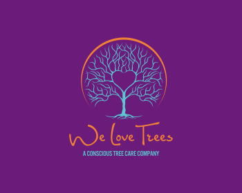 Logo We Love Trees LLC