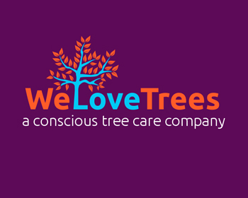 We Love Trees LLC logo design