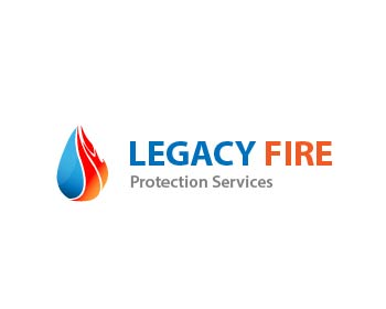 Legacy Fire Protection Services logo design