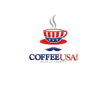 Coffee USA logo design