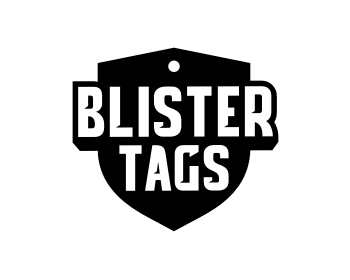 Blister Tags logo design