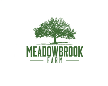 Meadowbrook Farm logo design