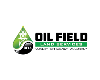 Oil Field Land Services logo design