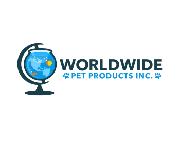 WorldWide Pet Products Inc logo design