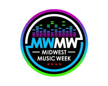 Midwest Music Week logo design