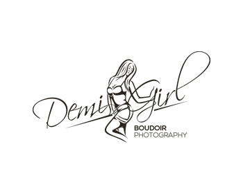 Demi Girl Boudoir Photography logo design