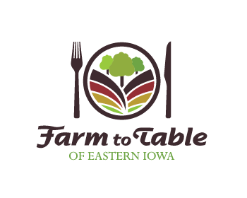 Farm to Table of Eastern Iowa logo design