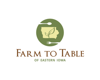 Logo Farm to Table of Eastern Iowa