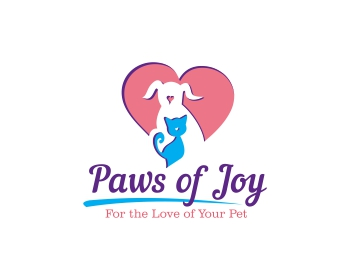 Paws of Joy logo design