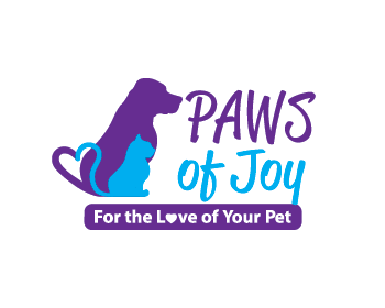 Logo Paws of Joy