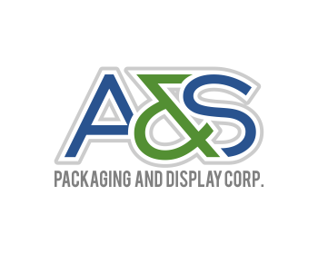 A & S Packaging and Display Corp. logo design