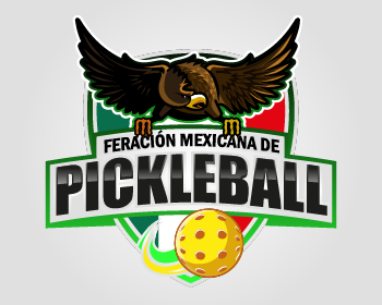 Federación Mexicana de Pickleball logo design