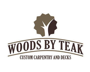 Logo design for Woods by Teak