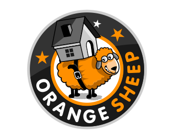 Orange Sheep logo design