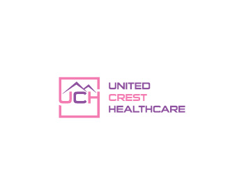 United Crest Healthcare logo design