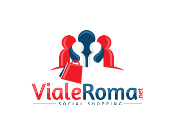 Logo design for Viale Roma.net