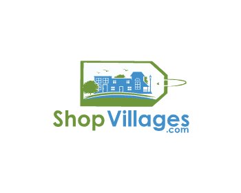 ShopVillages.com logo design