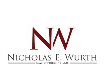 The Law Offices of Nicholas E. Wurth, PC, LLO logo design
