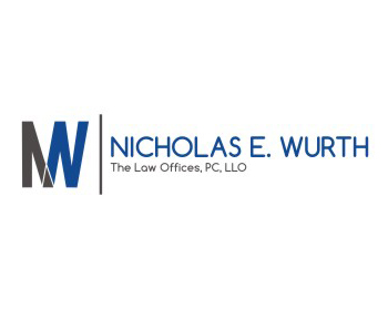 Logo design for The Law Offices of Nicholas E. Wurth, PC, LLO