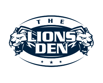 The Lions Den logo design