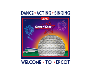 Seven Star School of Performing Arts logo design