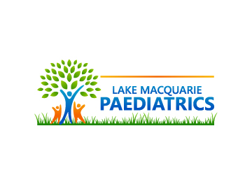Lake Macquarie Paediatrics logo design