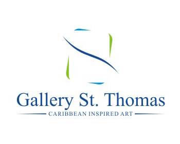 Gallery Saint Thomas or Gallery St. Thomas logo design