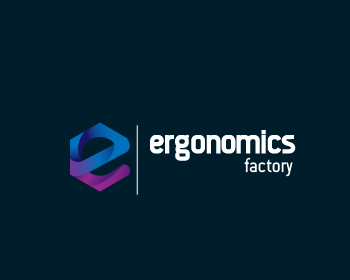ERGONOMICS FACTORY logo design