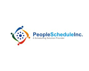People Schedule Inc. logo design