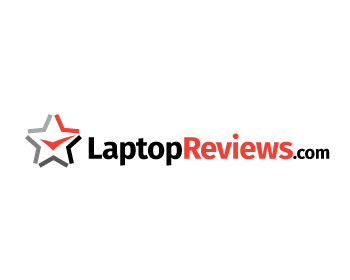 LaptopReviews.com logo design