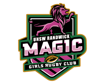 UNSW Randwick Magic Girls Rugby Club logo design