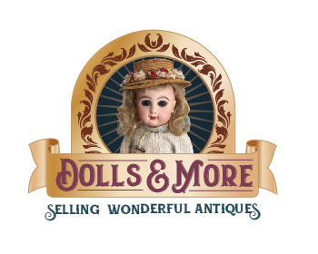 dolls-and-more logo design