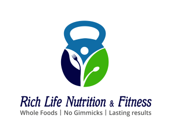 Logo Rich Life Nutrition & Fitness