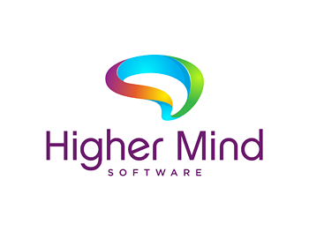 Higher Mind Software logo design
