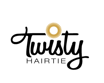 Twisty Hairtie logo design