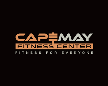 Cape May Fitness Center logo design