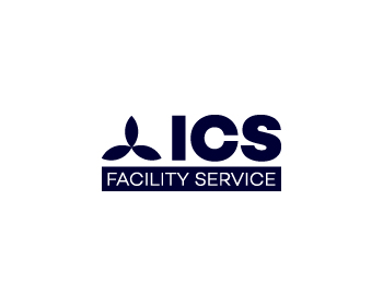 ICS Facility Service logo design