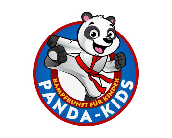 Logo Martial Arts Panda-Kids