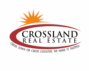 Crossland Real Estate logo design