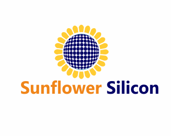Sunflower Silicon logo design