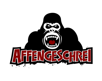 Logo design for AFFENGESCHREI