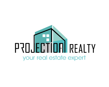 Projection Realty logo design