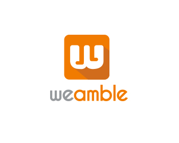 Logo design for weamble