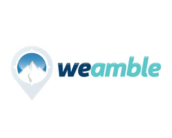 weamble logo design