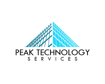 Peak Technology Services logo design