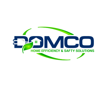 Logo design for Domco Home Efficiency and Safety Solutions, LLC