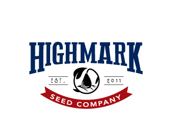 Logo design for Highmark Seed Company