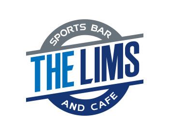 The Lims Sports bar and cafe logo design