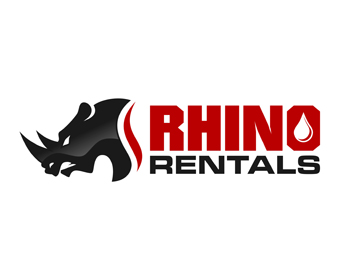 Logo design for Rhino Rentals